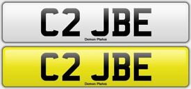Private Plate - Cherished number - C2 JBE