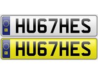 HUGHES Private Number Plate HU67 HES