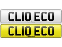 CLIO ECO Cherished plate, on retention fees paid.