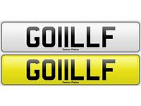 GOLF Registration Number for sale GOIILLF : : See My other ads for Regn's BIG MAXXY WILL FERGIE LUI