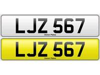 Registration number LJZ 567
