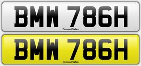 BMW 786 Private Plate Islam Muslim M Sport M2 M4 M5 Bismillah Apna