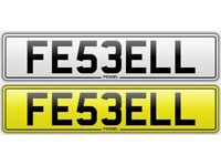 FESSEL FAISEL FAISUL FESEL Asian Desi private number plate suit CRX AMG CIVIC VTI M3 JDM RS4 RS6