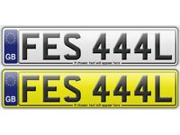UNIQUE PRIVATE NUMBER PLATE FES 444L (FEISEL) (FAISAL) (FEISAL) -
