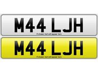 PRIVATE REGISTRATION ON RETENTION READY TO GO STRAIGHT ON YOUR MERCEDES JAG BMW CLASSIC LEXUS SWAP