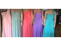 Bridesmaid/prom dresses £15 each or £40 for all 4