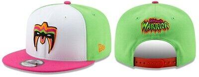 0d005e5a The Ultimate Warrior WWE Wrestling New Era 9FIFTY Snapback Adjustable Hat  Cap
