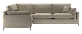 SCRUMPTIOUS 1.5 SEATER, 2.5 SEATER LEFT HAND FACING CORNER GROUP BEIGE WEAVE £1349