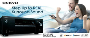 Onkyo TX-SR373 5.2 Channel 4K Ultra HD AV Receiver​