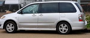 2004 Mazda MPV minivan 3 row seating, V6