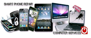 Computers, ipads/ tablets, cell repairs