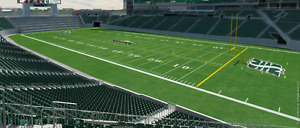 Hamilton Tiger-Cats at Saskatchewan Roughriders July 8