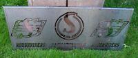 Saskatchewan Roughriders Laser Cut Steel Sign
