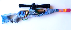 Be the coolest kid at the Nerf War. Hand Painted Nerf Guns