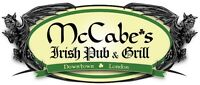 McCabes London is hiring Line Cooks