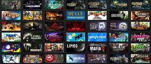 Steam Account 60 + games