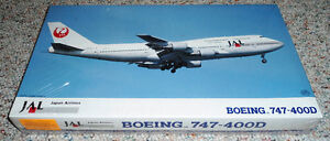 Hasegawa 1/200 Boeing 747-400D JAL (Japan Airlines)