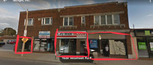 Retail units available - busy downtown Tecumseh/Lincoln location
