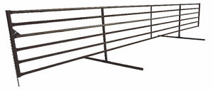 FREESTANDING/WINDBREAK CORRAL PANELS FOR CATTLE/LIVESTOCK