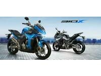 Zontes X310 310cc Sports Tourer A2 Licence LCD Dash Bosch Electrics