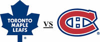 Toronto Maple Leafs @ Montreal Canadiens Tickets