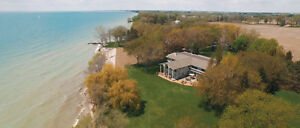 Executive Waterfront Estate, with luxury standards. 235x435 lot.