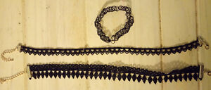 Three New Choker Necklaces, $5 takes all!