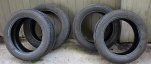 4 Michelin Latitude Tour HP Tires M+S 255/50R19 8/32""