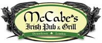 McCabes Irish Pub & Grill - Full/Part time Line Cooks