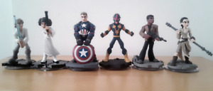 Disney Infinity Character game peices