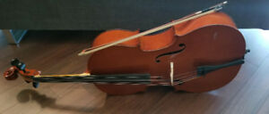 CELLO 4/4 with Soft Case, Chromatic Tuner and Sheet Music
