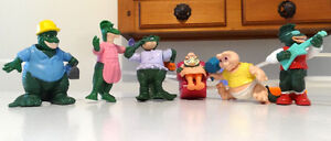 MCDONALD's FIGURINES, FAMILLE SINCLAIR, TV SHOW