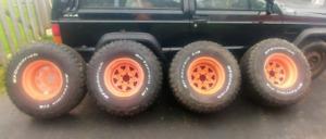 BF K02 33's on 15's - Jeep/Ranger Bolt