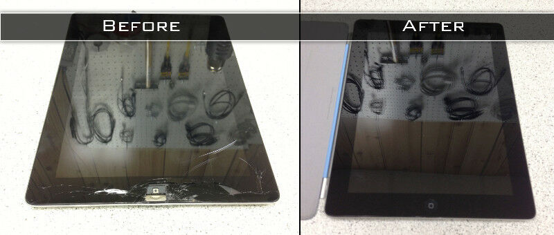 Cracked IPad Screen IPhone Repair