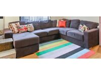 URGENT - brown corner sofa for sale! MUST GO TOMORROW