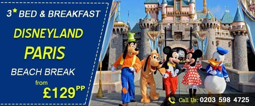 Disneyland Paris Beach Break Starting From 129 Pp Save 37 Off