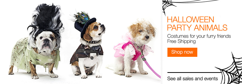 Halloween Party Animals | Costumes for your furry friends | Free Shipping | Shop now