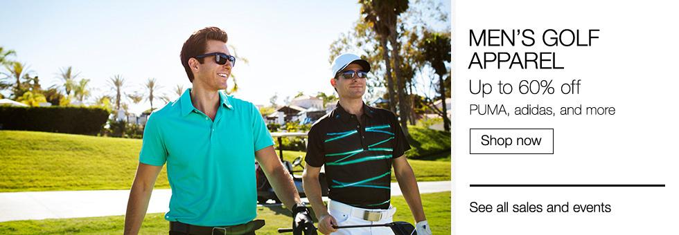Men's Golf Apparel | Up to 60% off PUMA, adidas, and more | Shop now