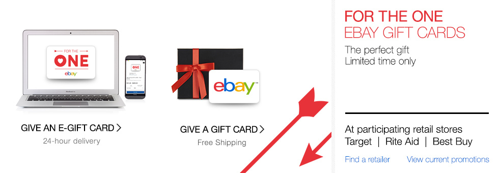 eBay Gift Cards | The perfect gift, every time