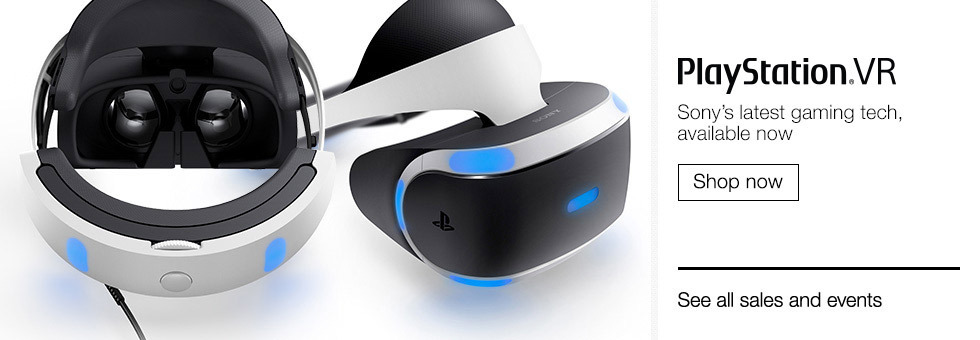 PlayStation® VR | Sony's latest gaming tech, available now | Shop now