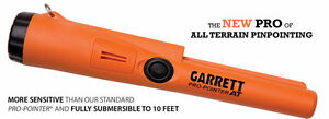 New Garrett Pro-Pointer AT - Gold / Metal Detector 3m waterproof
