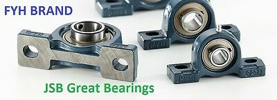 2 Fyh Ucp205-16 Two Bolt Flange Mount 1 Inch Pillow Block Bearings Ucp 205