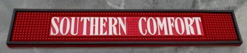 2004 SOUTHERN COMFORT Rubber Advertising Tavern Bar Rail Mat Clean Man Cave look