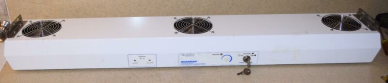 SIMCO CLEANROOM-RATED OVERHEAD IONIZING BLOWER GUARDIAN CR2000