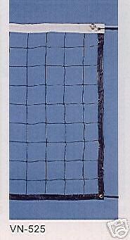 Volleyball Netz 9,50 x 1,00 m mit Stahlseil 3 mm und zus. Netzspanner 2 m lang