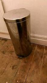 **URGENT** Stainless Steel 30l Dustbin