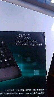 Logitech k 800 wless keyboard