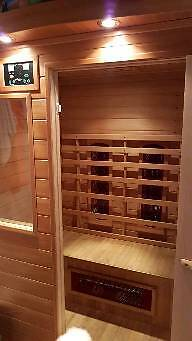 Two man infrared Saunain Coleraine, County LondonderryGumtree - Two man infrared Sauna for sale. Excellent health and weight loss benefits. The sauna is in mint condition and I have a genuine reason for selling. Buyer must be able to collect