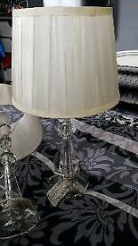 2 bedside lamps from next