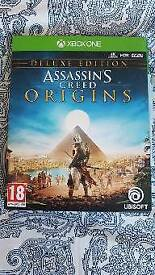 Assassins creed origins Xbox one deluxe edition